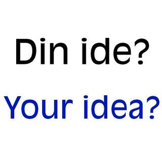 # Do you have an idea?