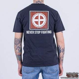 "EBT18 ""Never Stop Fighting"" – Black"