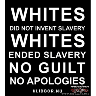 K33 No white guilt