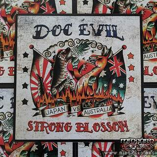 Doc Evil / Strong Blossom - Japan Vs Australia Vinyl