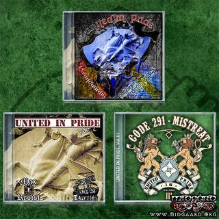 United in Pride vol. 1-3 (package)