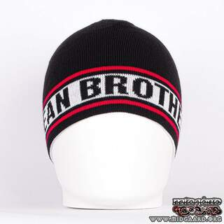 EB Reversible Beanie Black/White