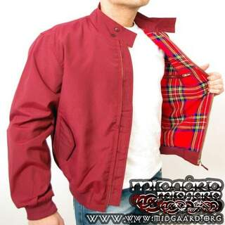 Harrington Jacket red - xtra large