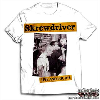 T-158 Skrewdriver - Live and loud