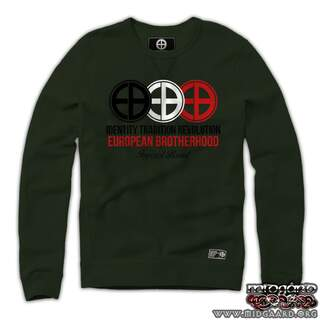 EBC1 Sweatshirt Identity Tradition Revolution – Army Green